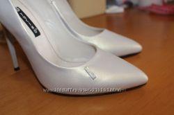 платиновые туфли-лодочки TUCINO