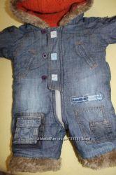 джинсовый  деми-комбез