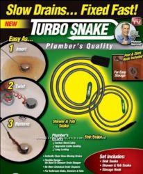 Чистка засора Sink Snake. в наличии