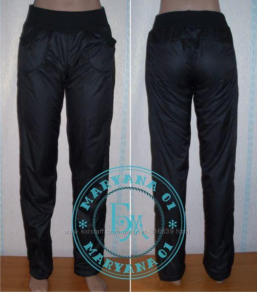Зимние штаны на флисе Очень тёплые размеры 42, 44, 46, 48, 50, 52, 54