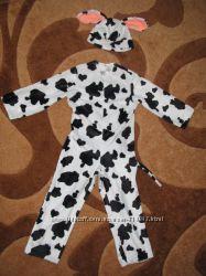 Прокат костюма бычка коровы на утренник