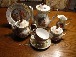 Продам новый немецкий чайно- кофейный сервиз Кахла мадонна  на 12 персон