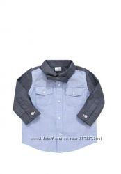 Новая рубашка с бабочкой Tesco для мальчика 3-6 мес