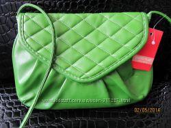 Сумка PAOLO TRUZZI новая в наличии зеленая