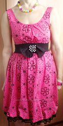Яркое на лето платье