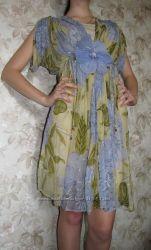 Итальянское шифоновое платье