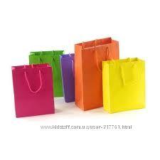 бумажные пакеты для бутиков