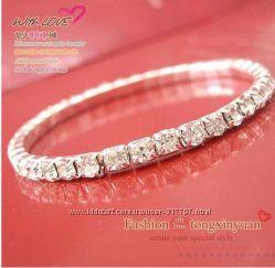 безразмерный бриллиантовый браслет