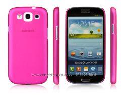 Полупрозрачный матовый силиконовый чехол для i9300 Galaxy S3