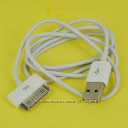 USB Дата кабель iPhone 3G 3Gs 4 4S iPod Nano Touch