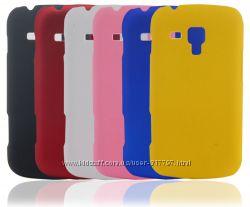 Непрозрачный пластмассовый чехол для Samsung Galaxy S Duos S7562