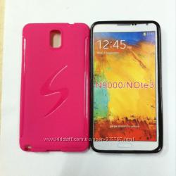 S-line TPU чехол Samsung GT-N9000 Galaxy Note 3