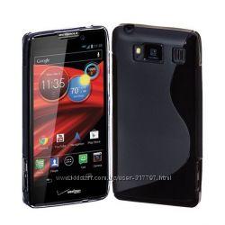 S-line TPU чехол Motorola Droid Razr HD XT926 XT925