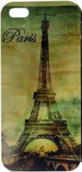 Цена снижена Чехол Эйфелева башня на IPhone 5
