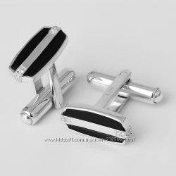 Запонки и зажимы для галстуков серебряные