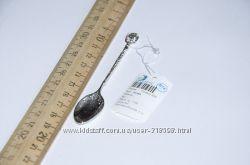 Сувенирная ложечка на 1й зуб из серебра 925 пробы