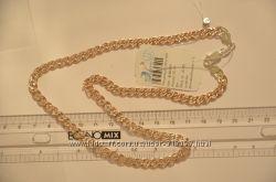 Серебряные позолоченные колье и цепочки отличного качества