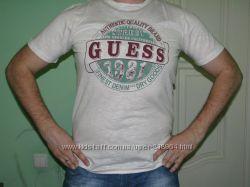 Распродажа. стильные мужские футболки GUESS Турция в наличии
