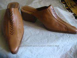 Арабские кожаные шлепки. Распродажа.