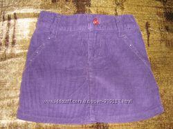 Вельветовая модная юбка для девочки Глория Джинс