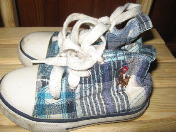 Демисезонные туфельки в хорошем состоянии 13-14см