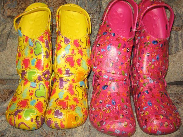 СП Яркие Детские кроксы ТМ 4rest для мальчиков и девочек