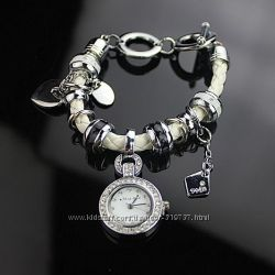 Необыкновенно красивые часики-браслет в стиле Пандора