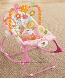 Кресло-качалка шезлонг  Fisher Price  с вибрацией