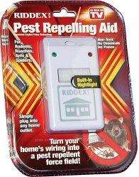 Отпугиватель тараканов, грызунов и насекомых RIDDEX Pest Repelling Aid
