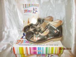 Детские ортопедические босоножки закрытые  для мальчика MIMY