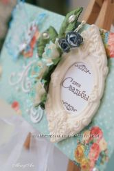 Свадебные конвертики и открытки
