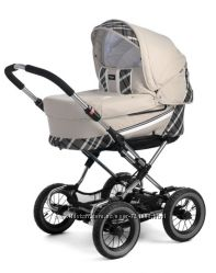 Детская коляска БУ Emmaljunga EDGE Duo Combi цвет Capri Creme