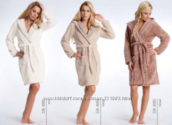 Женские и муж халаты - хлопоковые и махровые флисовые модельки. Распродажа.