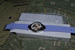 Наручные часы с силиконовым ремешком