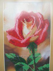 Картина Роза бисером