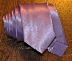 Узкие галстуки Фиолетовые, голубые тона