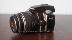 Зеркалка Sony Alpha SLT-A35  объектив 18-55mm Kit