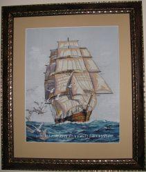 Картина  Морская прогулка