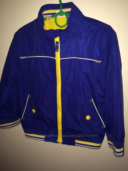 курточка с флисовой подкладкой