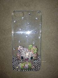 Бампер для Iphone 5 корпус чехол в наличии с кристаллами