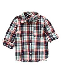 Стильные рубашки для мальчишек 3, 4, 5 лет