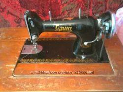Швейная машинка Орша ножная с тумбой