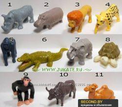 Киндер колекция животные