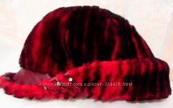 Оригинальная шапочка из овчины, 56-60 р.