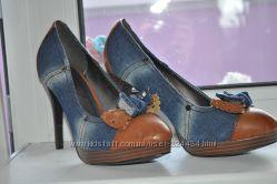 Джинсовые туфельки, 25см