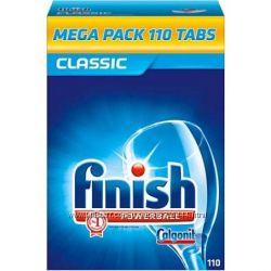 Finish Classic 136шт таблетки для посудомоечной машины. Супер цена