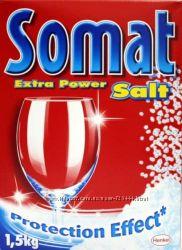 Somat Соль для посудомоечной машины 3кг Акция