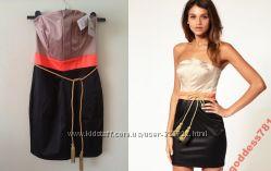 Платье Asos с поясом кисточкой