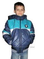 Шикарные куртки для мальчишек , стеганная