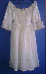 Выпускное, нарядное платье на девочку для праздников.